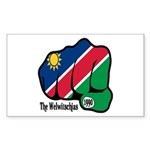 Namibia Fist 1990 Rectangle Sticker