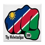 Namibia Fist 1990 Tile Coaster