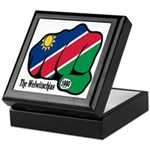 Namibia Fist 1990 Keepsake Box
