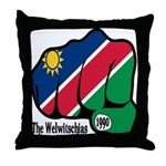 Namibia Fist 1990 Throw Pillow