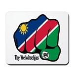 Namibia Fist 1990 Mousepad