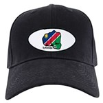 Namibia Fist 1990 Black Cap