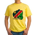 Namibia Fist 1990 Yellow T-Shirt