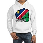 Namibia Fist 1990 Hooded Sweatshirt