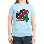 Namibia Fist 1990 Women's Light T-Shirt