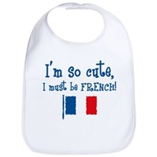 So Cute French Bib