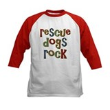 Rescue Dogs Rock Pet Dog Lover Tee