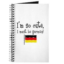 So Cute German Journal