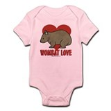 Wombat Love Infant Bodysuit