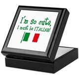 So Cute Italian Keepsake Box