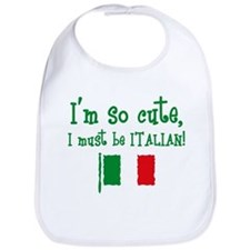 So Cute Italian Bib