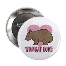 "Wombat Love II 2.25"" Button (100 pack)"