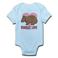 Wombat Love II Infant Bodysuit