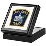 Coral Gables Police Keepsake Box