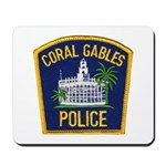 Coral Gables Police Mousepad