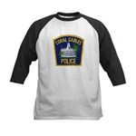 Coral Gables Police Kids Baseball Jersey