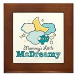 Mommy's Little McDreamy Framed Tile