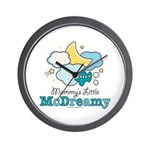 Mommy's Little McDreamy Wall Clock