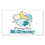 Mommy's Little McDreamy Rectangle Sticker