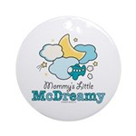 Mommy's Little McDreamy Ornament (Round)