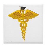 Medical School Graduation Tile Coaster