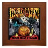 HALLOWEEN 1 Framed Tile
