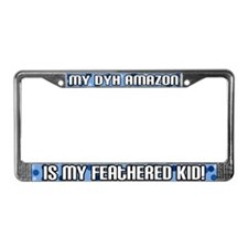 DYH Amazon Feathered Kid License Plate Frame