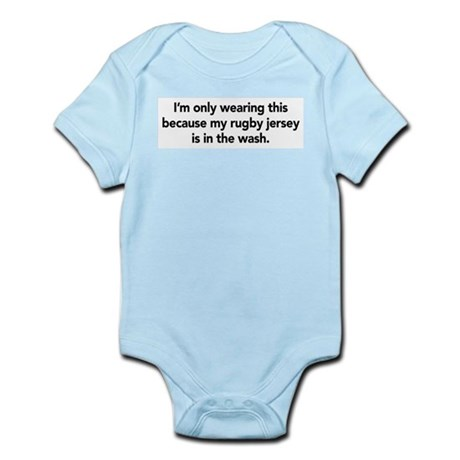 Rugby Infant Bodysuit
