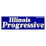 Illinois Progressive Bumper Sticker