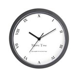 Metric Clock Wall Clock