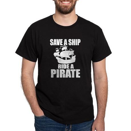 Save A Ship Dark T-Shirt