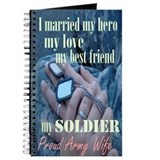Cute Military wife Journal