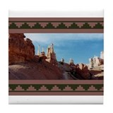 BRYCE CANYON SPIRES Tile Coaster