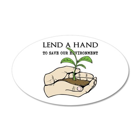 Lend A Hand Wall Decal