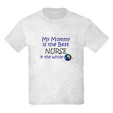 Best Nurse In The World (Mommy) T-Shirt