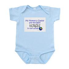 Best Nurses In The World Infant Bodysuit