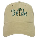 Bride with Palm Baseball Cap