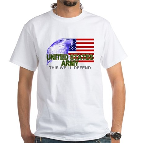 United States Army T-shirts & White T-Shirt