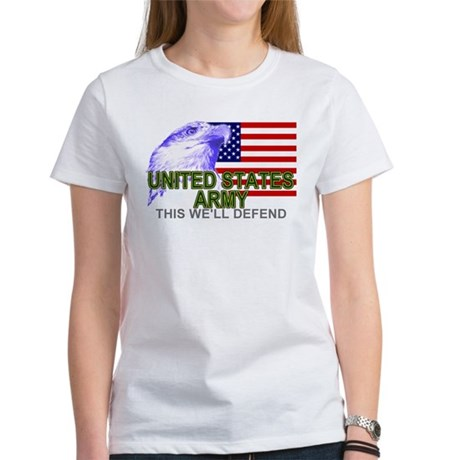 United States Army T-shirts & Women's T-Shirt