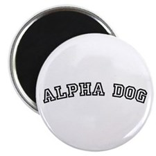 Alpha Dog Magnet