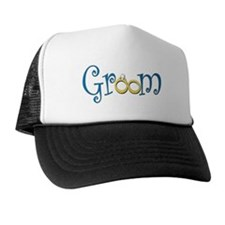 Groom Wedding Rings Trucker Hat