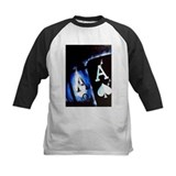 Blue Flame Pocket Aces Poker Tee