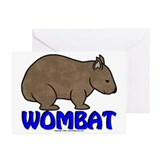 Wombat Logo III Greeting Cards (Pk of 20)
