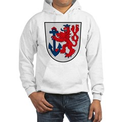 Dusseldorf Coat of Arms Hooded Sweatshirt