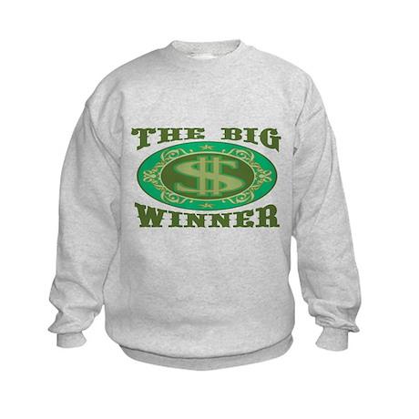 The Big Winner Kids Sweatshirt