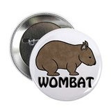 "Wombat Logo II 2.25"" Button (10 pack)"