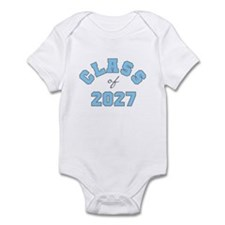 Class of 2027 Blue Infant Bodysuit