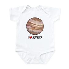 I Love Jupiter Infant Bodysuit