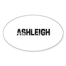 Ashleigh Oval Decal