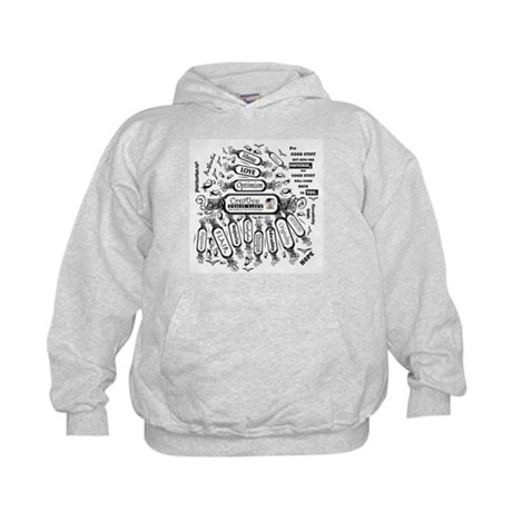 Creative Thought Graphic Kids Hoodie